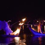 spectacle sur l'eau-water show-ilotopie-performance