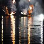 Spectacle sur l'eau-Show on the water-ilotopie-water show-aquatic show