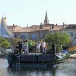 Architecture flottante-scène flottante