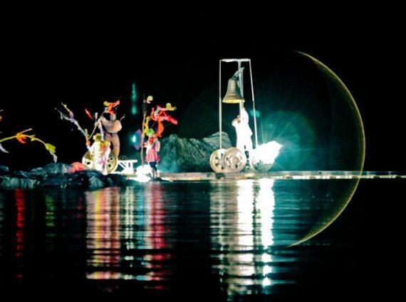 Spectacle sur l'eau-water show-aquatic show