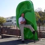 Sculptures intéractives-installation urbaine